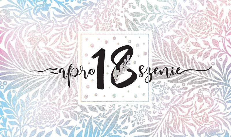 Zaproszenia na osiemnastkę / ZP-012