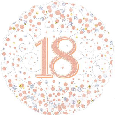 Balon foliowy holograficzny na 18 urodziny / 227086