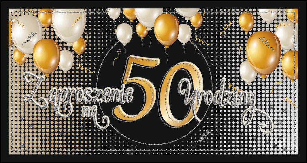 Zaproszenia na 50 urodziny / Z73