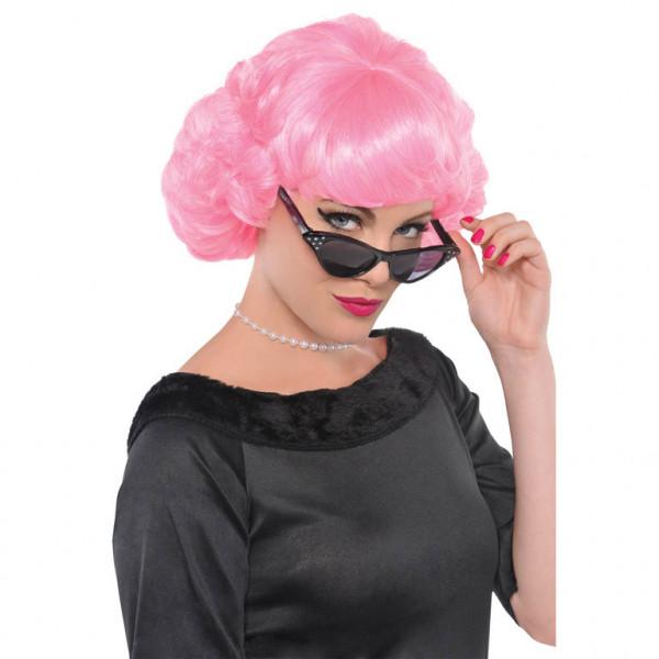 """Damska peruka różowa """"Różowe lata 50-te"""""""