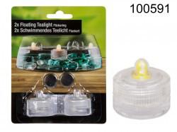 Pływająca świeczka LED (2 sztuki)