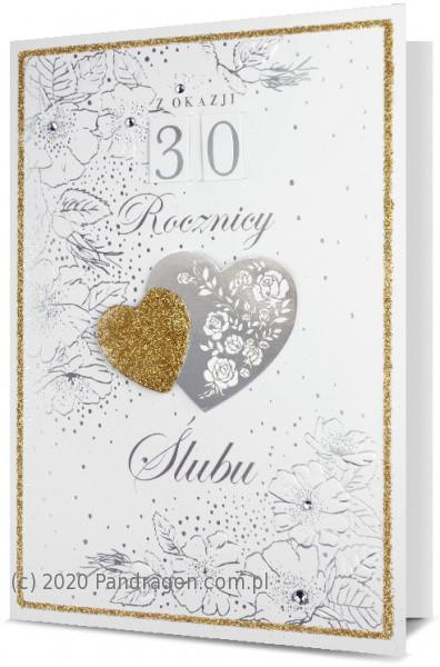 Kartka z okazji rocznicy ślubu / HM200-1710