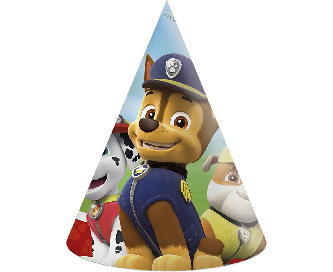 """Zestaw czapeczek urodzinowych """"Psi Patrol"""""""