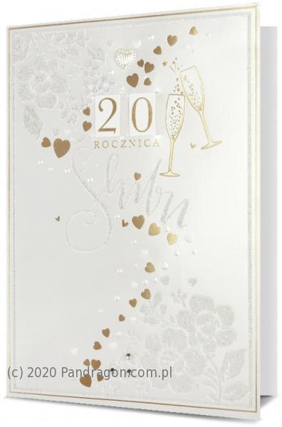 Kartka z okazji rocznicy ślubu / HM200-1708
