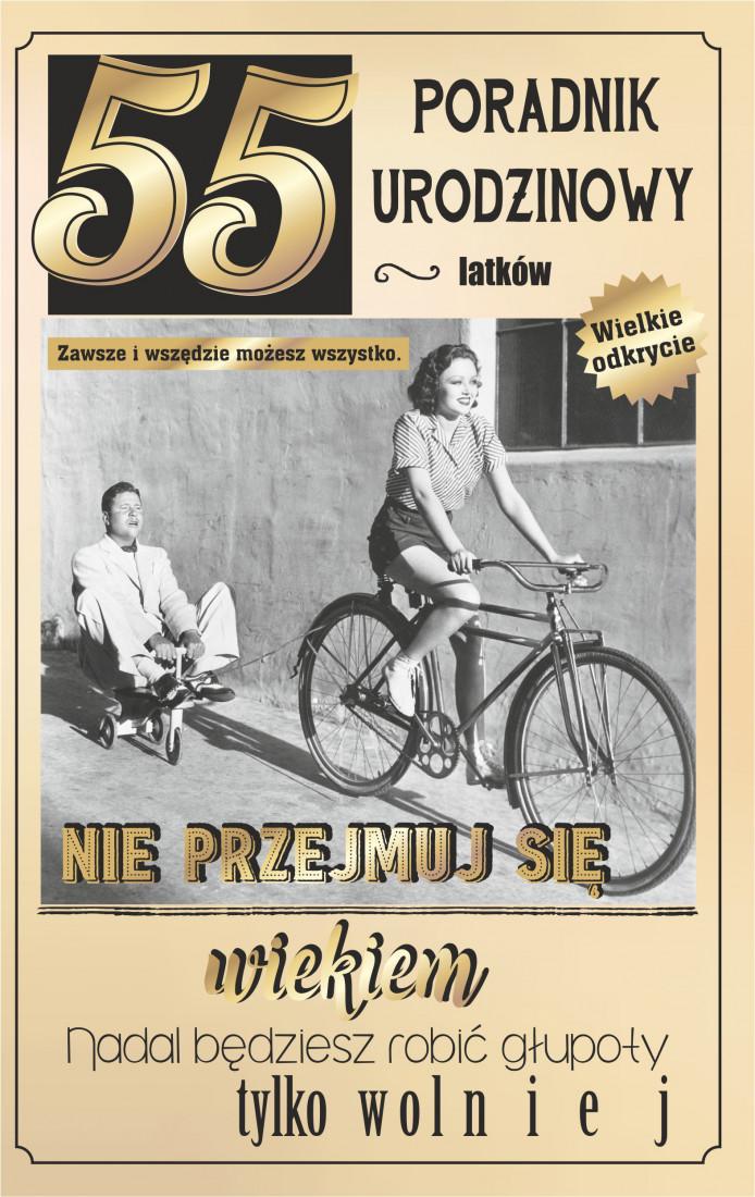 Kartka na 55 urodziny / U72