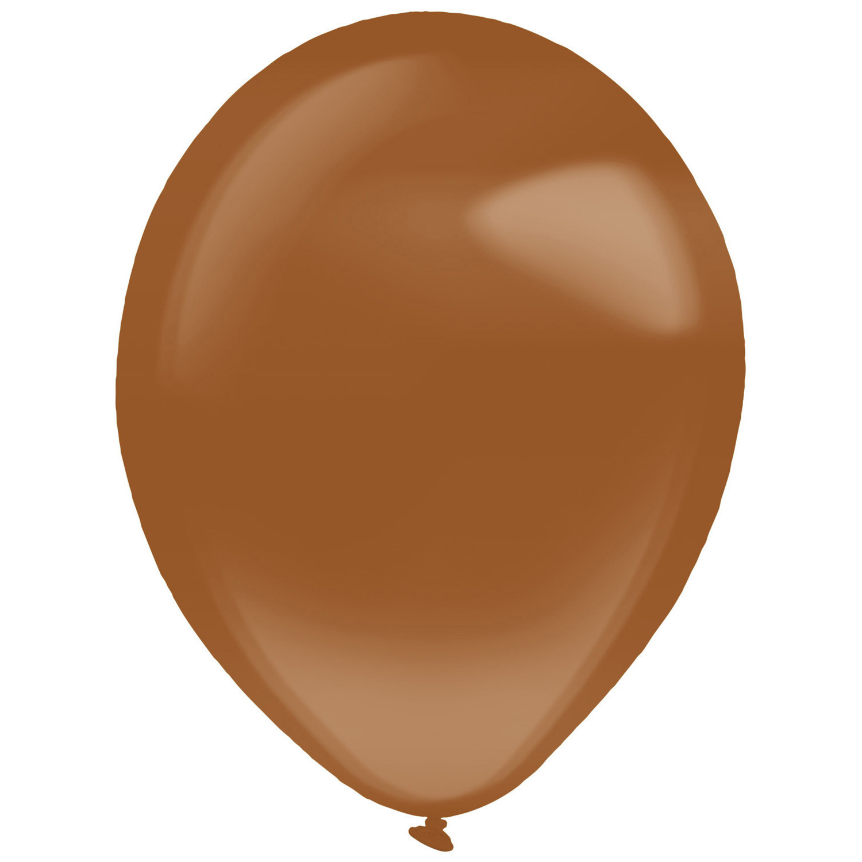 "Balony lateksowe ""Decorator"" Crystal Chocolate Brown / 11""-28 cm"