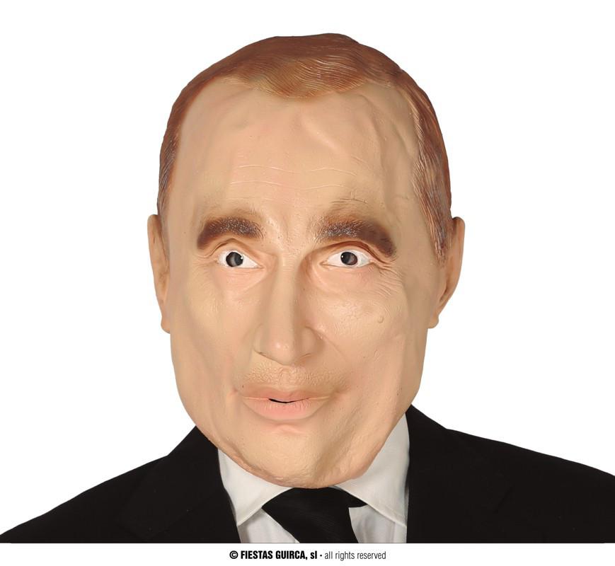 Maska rosyjskiego prezydenta