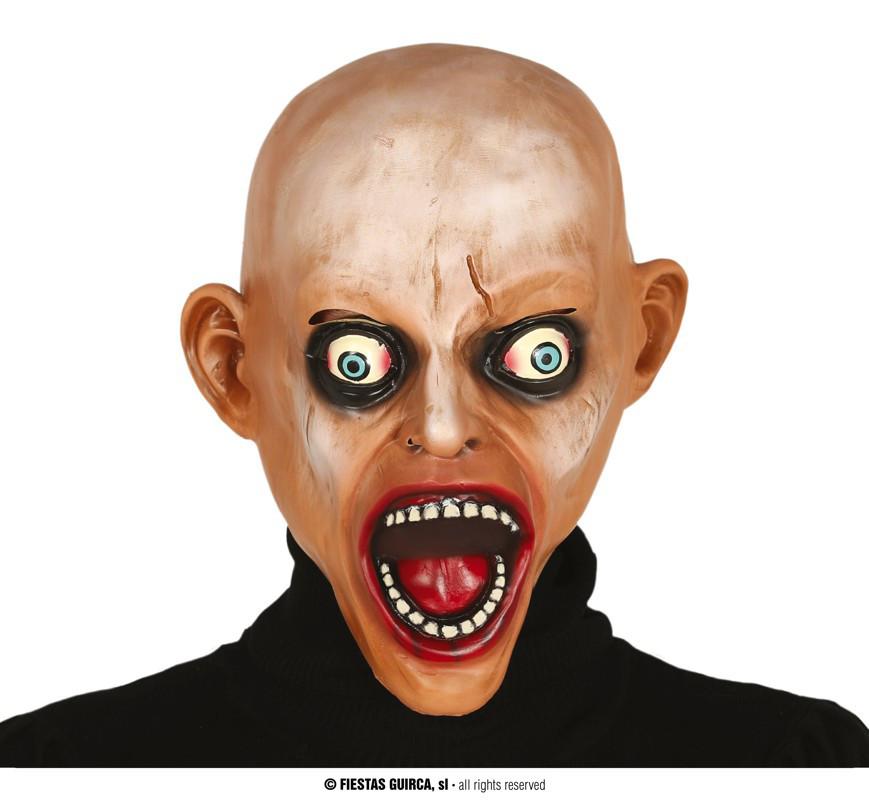 "Maska na Halloween ""Łyse Zombie"""
