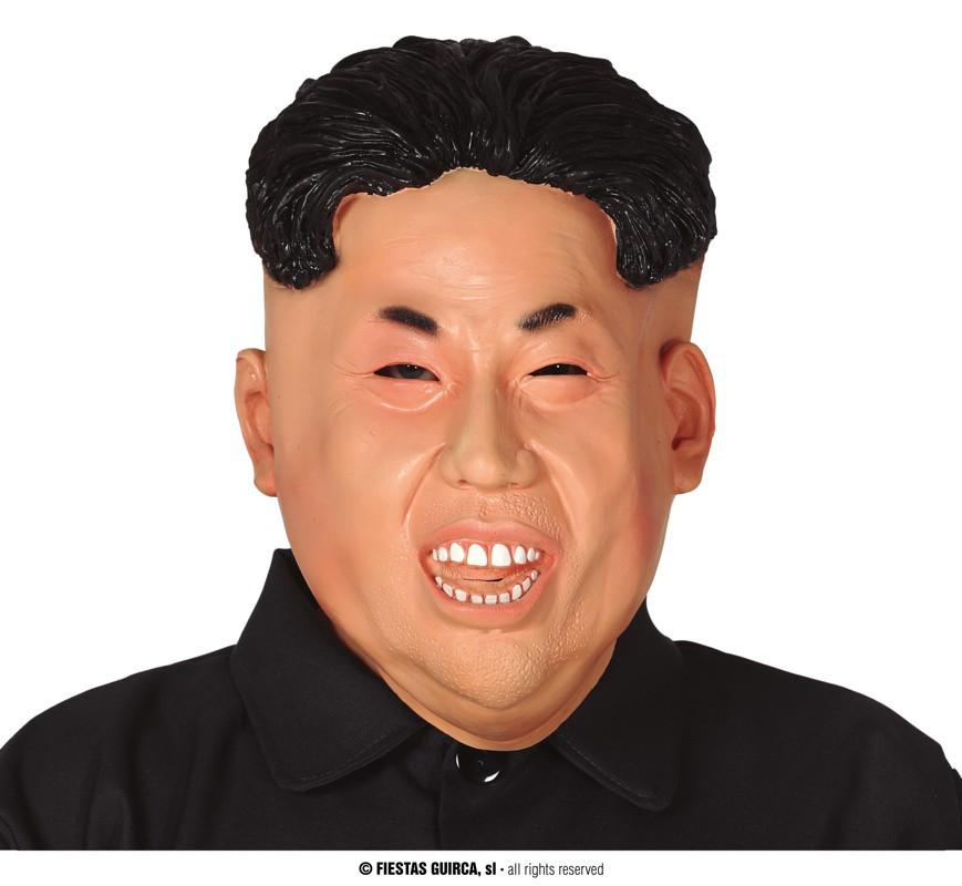 Maska koreańskiego prezydenta