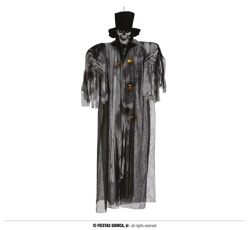 """Ozdoba na Halloween """"Szkielet Pan Młody"""" podświetlany / 180 cm"""