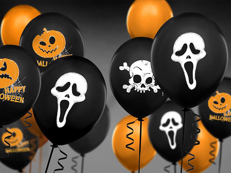 """Balony na Halloween z duchem """"Krzyk"""" / SB14P-121-010-6"""