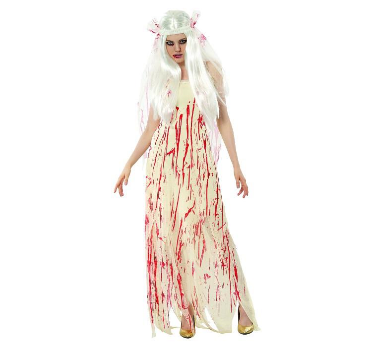 """Strój na Halloween """"Krwawa Panna Młoda"""" / rozm.38"""