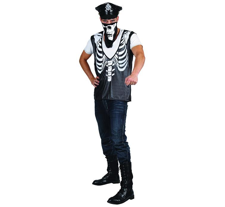 "Strój na Halloween ""Szkielet Gangstera"""