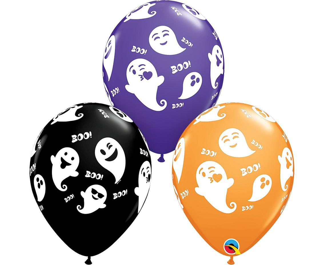Balony na Halloween Duszki / 79213-6