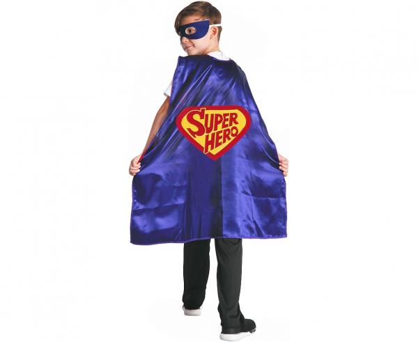 "Peleryna Superbohatera ""Super Hero"" / rozm. 120-130 cm"