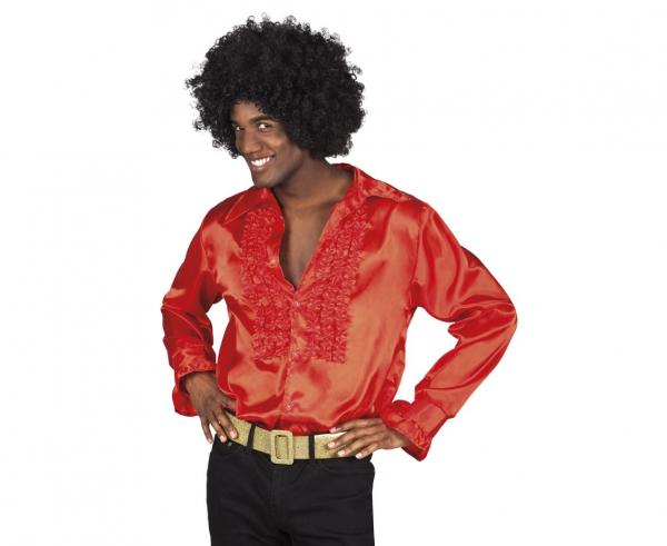 Męska koszula czerwona / rozm. M
