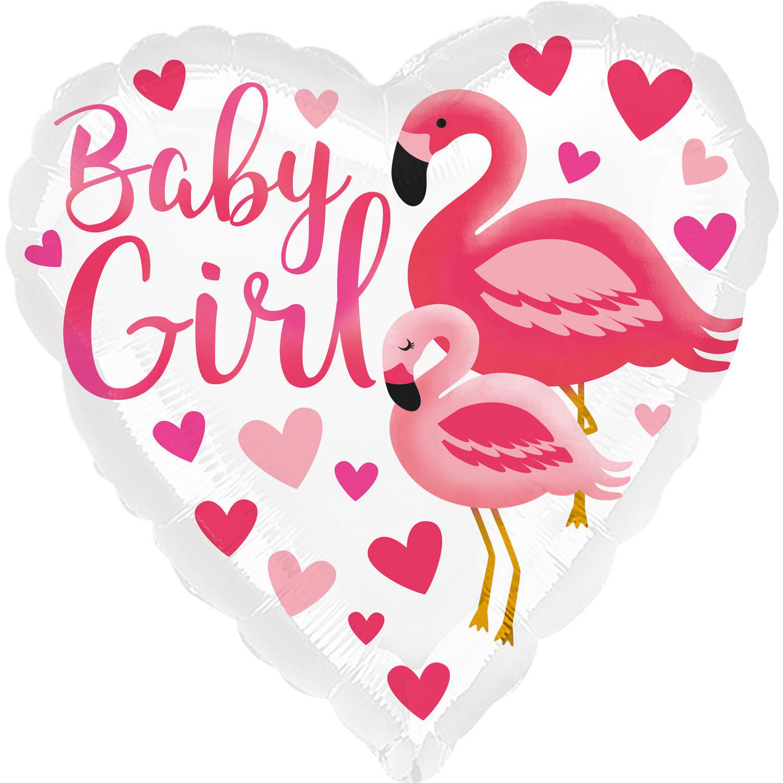 """Balon na narodziny dziewczynki """"Baby Girl"""""""