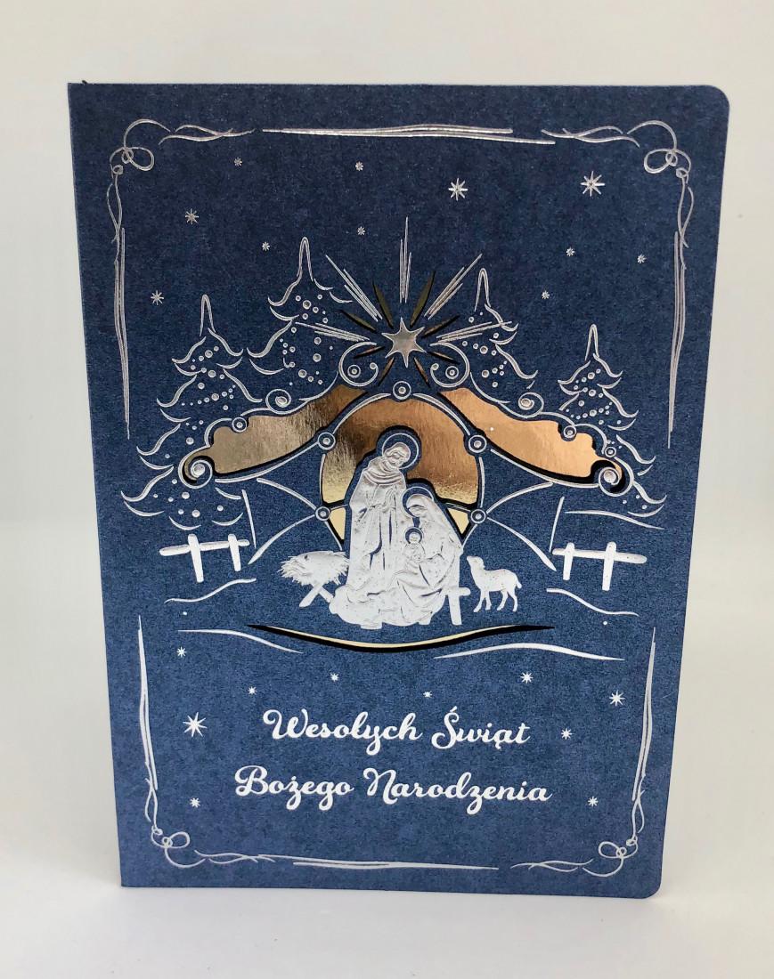 Kartka świąteczna na Boże Narodzenie / CH-1804