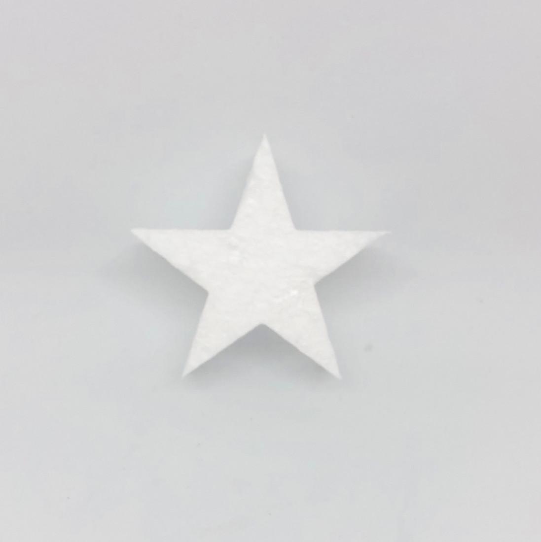 Gwiazdki styropianowe / 6x6 cm