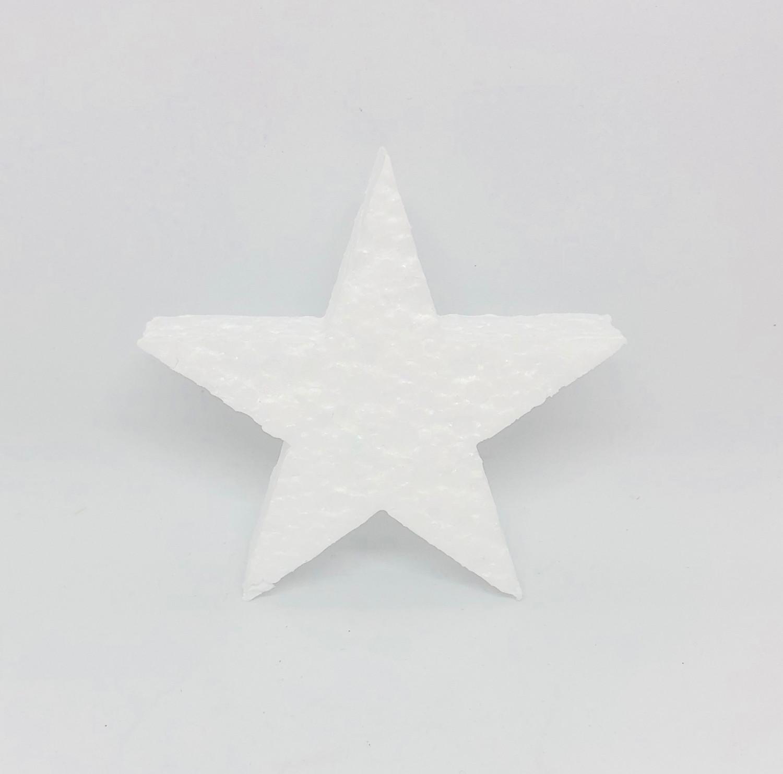 Gwiazdki styropianowe / 9x9 cm