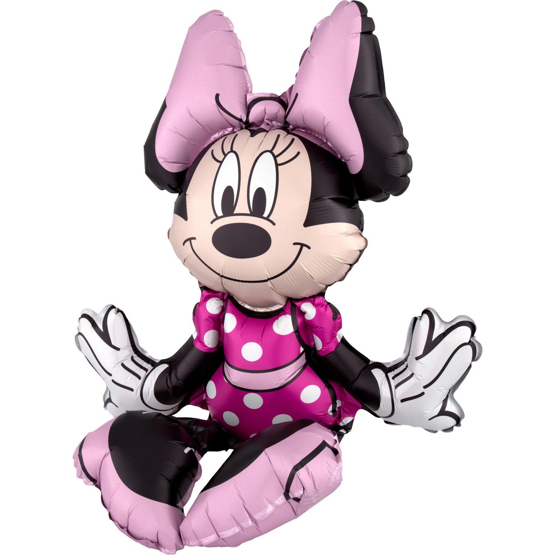 """Balon foliowy siedząca """"Myszka Minnie"""" / napełniany powietrzem"""