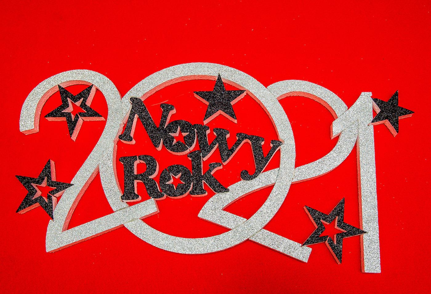 "Napis ""Nowy Rok 2021"" / NNR5"