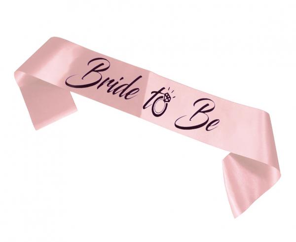 "Szarfa ""Bride to Be"" / OB-SBTB"