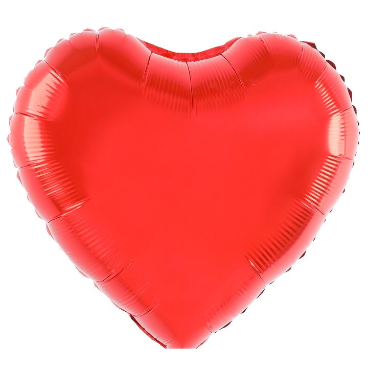 Balon foliowy czerwone Serce / 45 cm