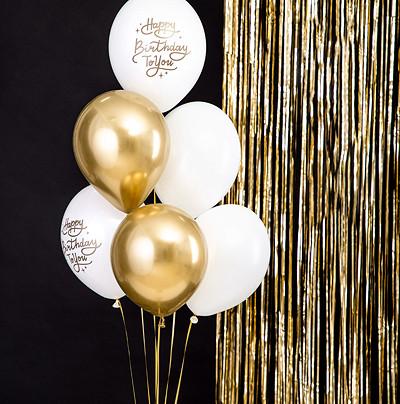 """Balony lateksowe """"Happy Birthday To You"""""""