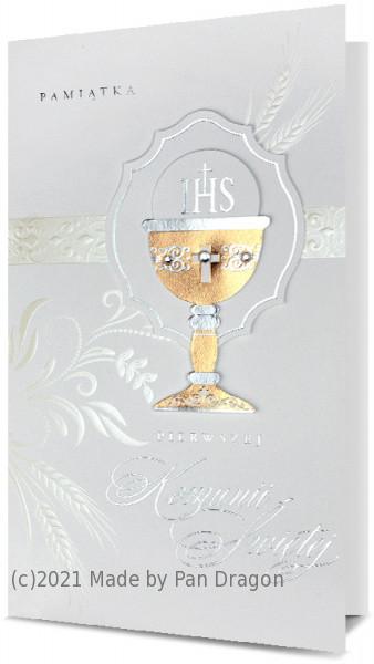 Kartka z życzeniami na Komunię / HM200-1729
