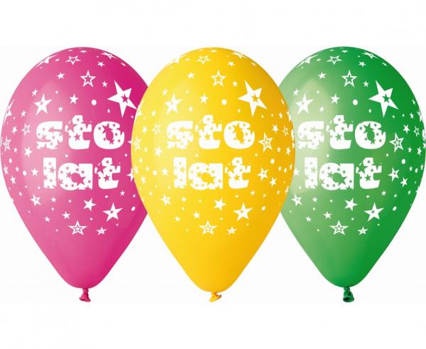 "Balony lateksowe 13"" Sto Lat"