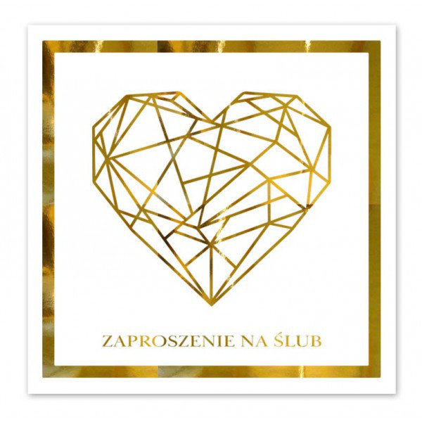 Zaproszenia ślubne / ZP2003