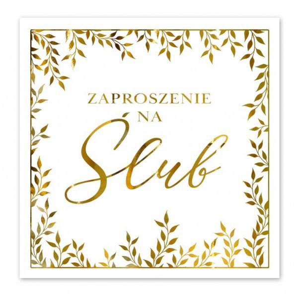 Zaproszenia ślubne / ZP2004