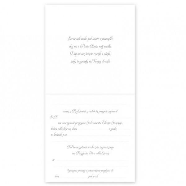 Zaproszenia na Chrzest Święty / ZP2005