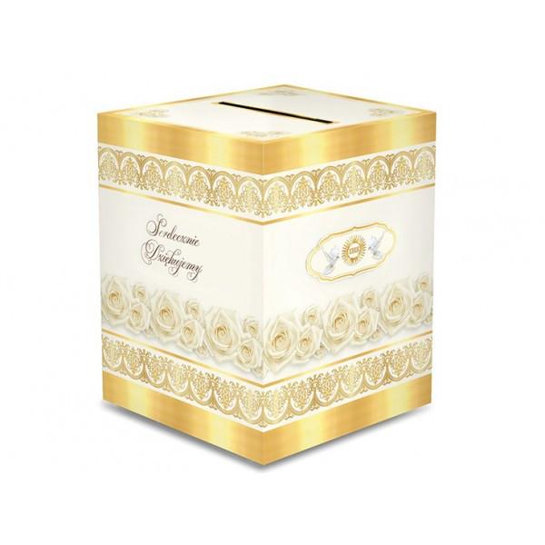 Pudełko na koperty na Komunię