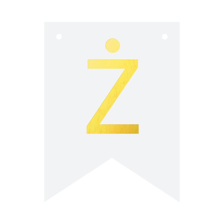 Baner DIY - litera Ż