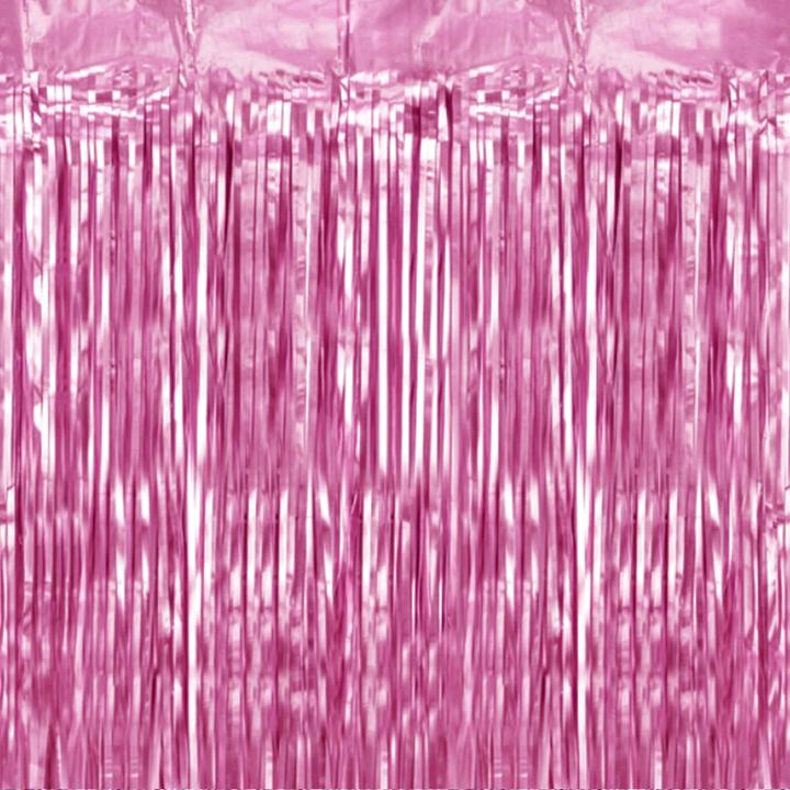 Kurtyna imprezowa różowa / 100x200 cm