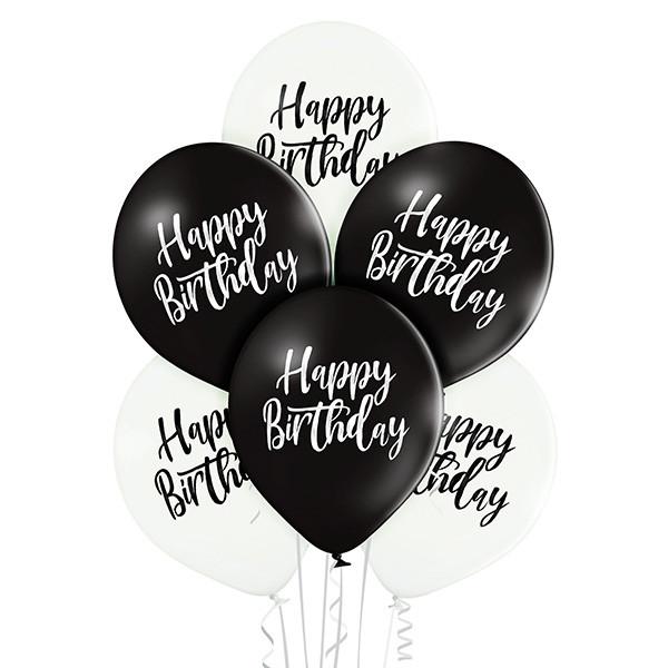 Balony mix Happy Birthday
