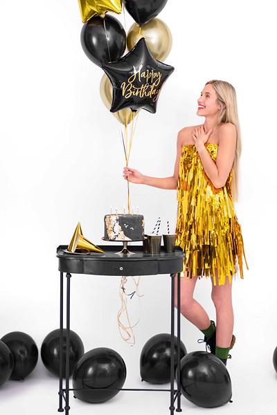 """Balon foliowy 40 cm """"Happy Birthday"""" / FB93-010"""