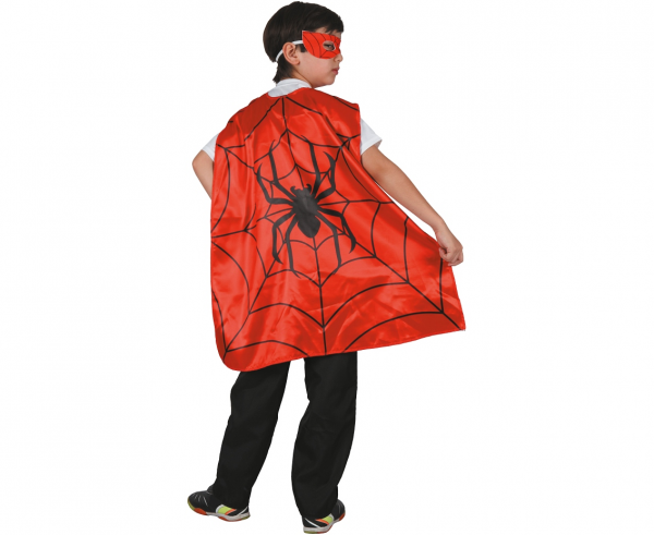 "Peleryna Superbohatera ""Pająk"" / rozm. 120-130 cm"
