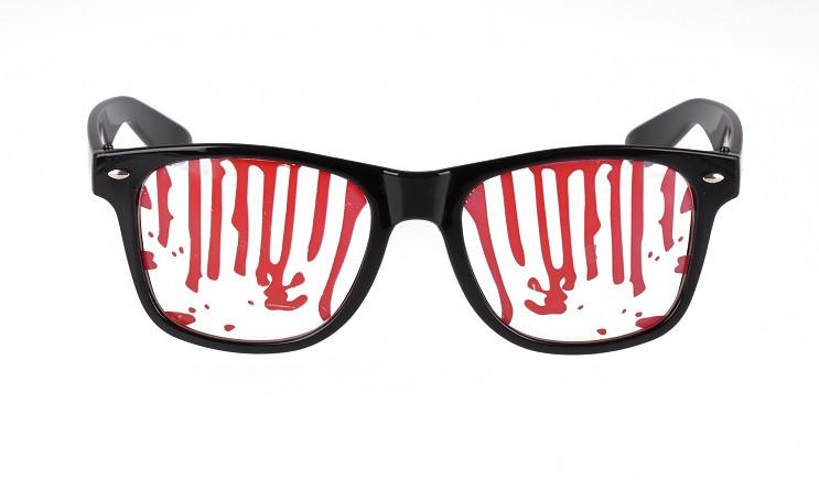 "Okulary na Halloween ""Seryjnego Mordercy"""