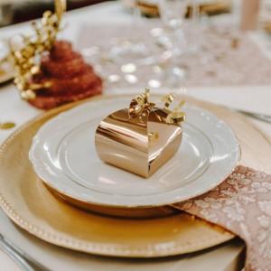 Pudełeczka na podziękowania dla gości na ślub i wesele