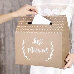Pudełka na koperty na ślub i wesele