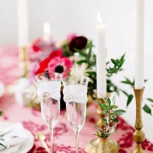Kieliszki na ślub i wesele