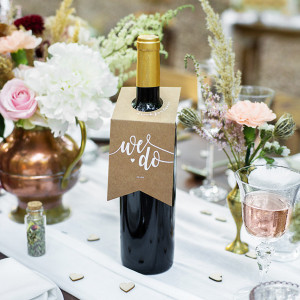 Zawieszki na alkohol na ślub i wesele