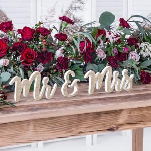 Napisy na stół Pary Młodej na ślub i wesele