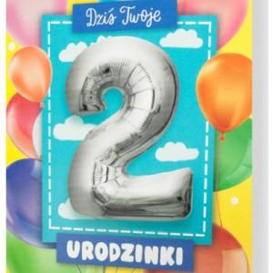 Kartki z życzeniami na 2 urodziny