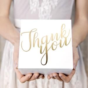 Pudełka na ciasto na ślub i wesele