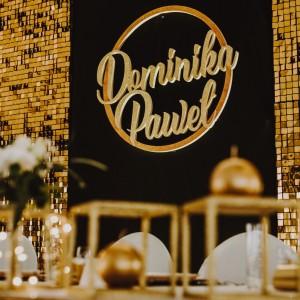 Dekoracje personalizowane na ślub i wesele