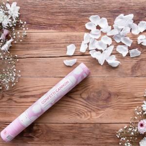 Wystrzałowe tuby konfetti na ślub i wesele